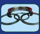 For high-power diesel engine, its ring grooves will stand high pressure and high heat loads. by inserting high nickel cast-iron inlay ring, wear-resistance and heat-resistance abilities of ring grooves are improved.